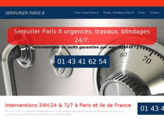 Détails : Serrurier Paris 8