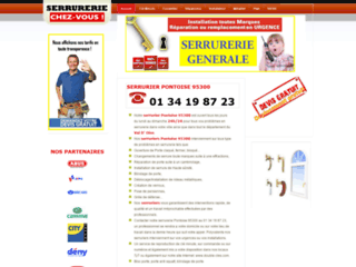 Détails : serrurier à Pontoise