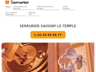 Détails : serrurier professionnel à Savigny-le-Temple