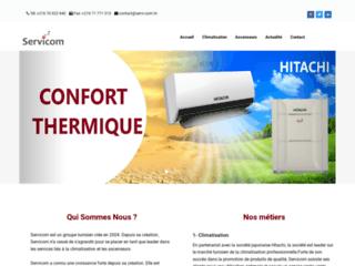 Détails : SERVICOM : Installation infrastructure télécommunication en partenariat avec Cisco Tunisie