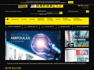 Détails : Fournitures-Batiment, vente en ligne d'aricles d'équipements de bâtiment