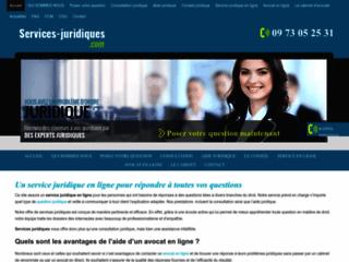 Détails : Services Juridiques, aide et services juridique en ligne
