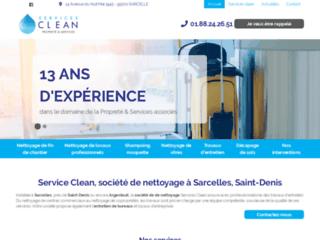Services Clean, société de nettoyage à Sarcelles, Saint-Denis