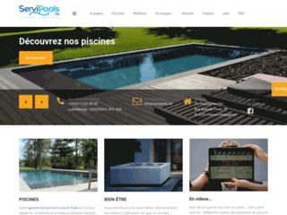 Détails : Servipools, votre distributeur et installateur de piscines