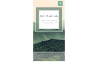 Détails : Setragal   Producteur de l'huile de pépins de figue de barbarie