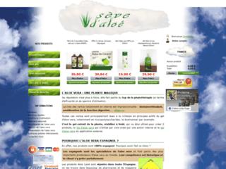 Détails : Cosmétiques à l'aloe vera