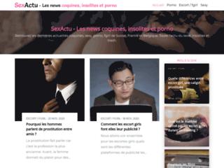 Détails : Sexactu blog érotique coquin