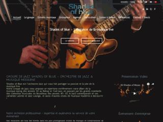 Détails : La musique live avec l'orchestre polyvalent Shades of Blue