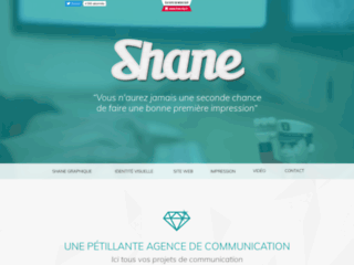 Détails : Agence de création web Shane Graphique