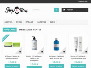 Détails : Des produits de soins et de beauté pour les hommes