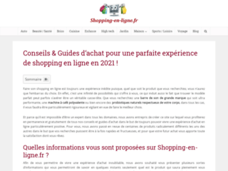 shopping en ligne