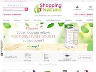 Détails : Shopping Nature, compléments alimentaires
