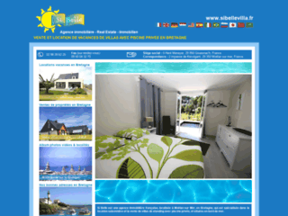Détails : Location villas piscine Bretagne : Si Belle
