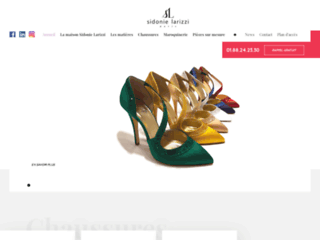 La Maison Sidonie Larizzi - Créateur de chaussures de luxe, à Paris 08