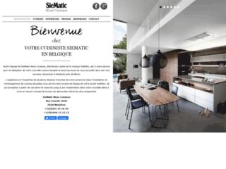 Détails : Cuisines équipées SieMatic Mons Cuisines