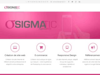 Détails : SigmaTIC : Création de site internet et informatique