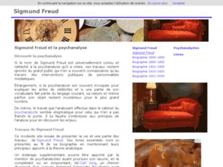 Détails : Sigmund Freud et la psychanalyse