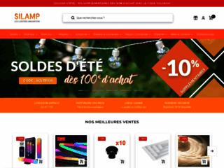 Détails : SILAMP, fabricant et vendeur d'éclairages LED