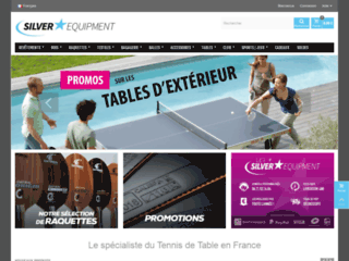 Silver Equipement : tout pour le tennis de table