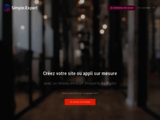Simple.Epxert : Estimer le prix de création site internet ou application mobile !
