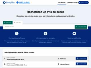 Détails : Démarches administratives décès : Société Simplifia