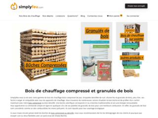 Bois de chauffage : buches compressées et granulés de bois – Simplyfeu