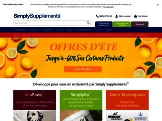 Détails : Simply Supplements France le meilleur du complément alimentaire