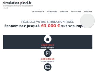 Détails : Préparez votre investissement avec la simulation Pinel