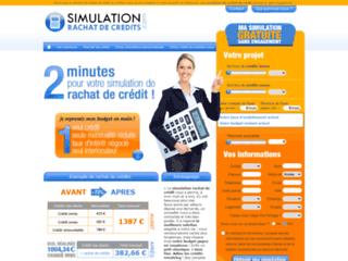 Détails : Simulation rachat de credit