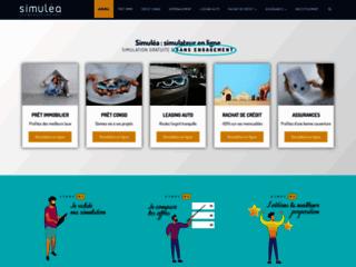 Simulea : simulateur de rachat de crédit en ligne