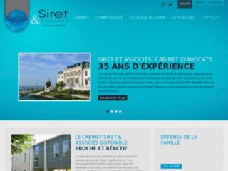 Détails : Siret et Associés : Cabinet d'avocats 35 ans d'expérience