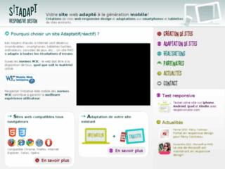 Détails : Sitadapt - Création de sites responsive design