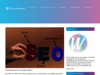 Détails : Création de site web tout budget