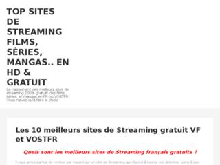 Détails : Portail des sites de streaming de référence