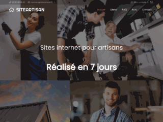 Sites internet pour artisans