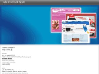Détails : Site internet facile, création Site Internet Facile