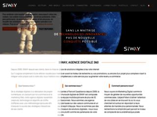 Détails : SiWay - réalisation de sites internet