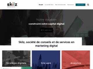 Détails : Skilz, agence web et marketing digital