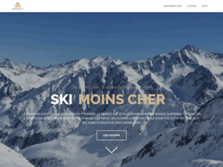 Skimoinscher.com : Site spécialisé pour des vacances de ski pas cher