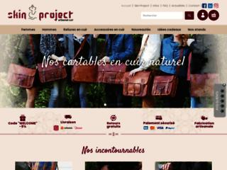Skin Project, achetez des produits en cuir d'une bonne qualité