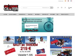 Détails : Skydive Center, saut en parachute