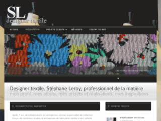 Détails : Stéphane Leroy, designer textile