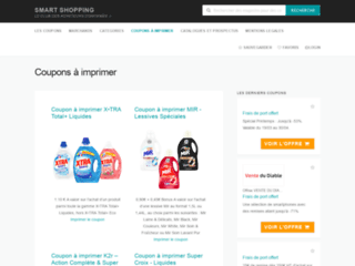 Smart-shopping : promotions et codes promos