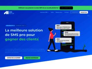 Détails : SMS Factor, envoi de SMS pro