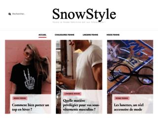 Détails : Le snowboard pour tous : Snow Style