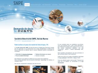 Détails : Société d'électricité SNPE