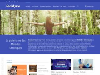 SociaLyme, la plateforme d'information des malades chroniques