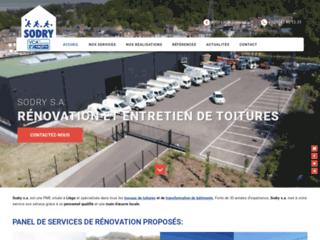 Sodry : Travaux de rénovation et toitures à Liège