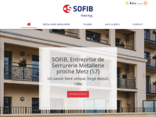 SOFIB : Entreprise de serrurerie, métallerie et tôlerie a proximité de Metz