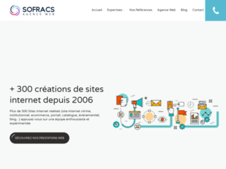 Creation site internet : Sofracs